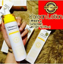 AUTHENTIC Korean Lotion ( Whitening Sunscreen with SPF 50 PA+++) 150ML